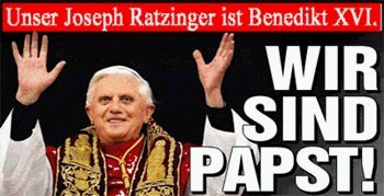bildzeitung zur Papstwahl