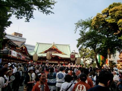 Eindruecke vom Kanda Matsuri